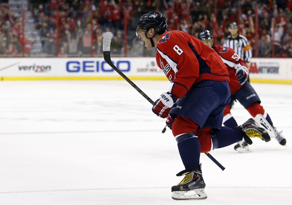 Alex Ovechkin Scores Another Miracle, Game-Tying Goal in