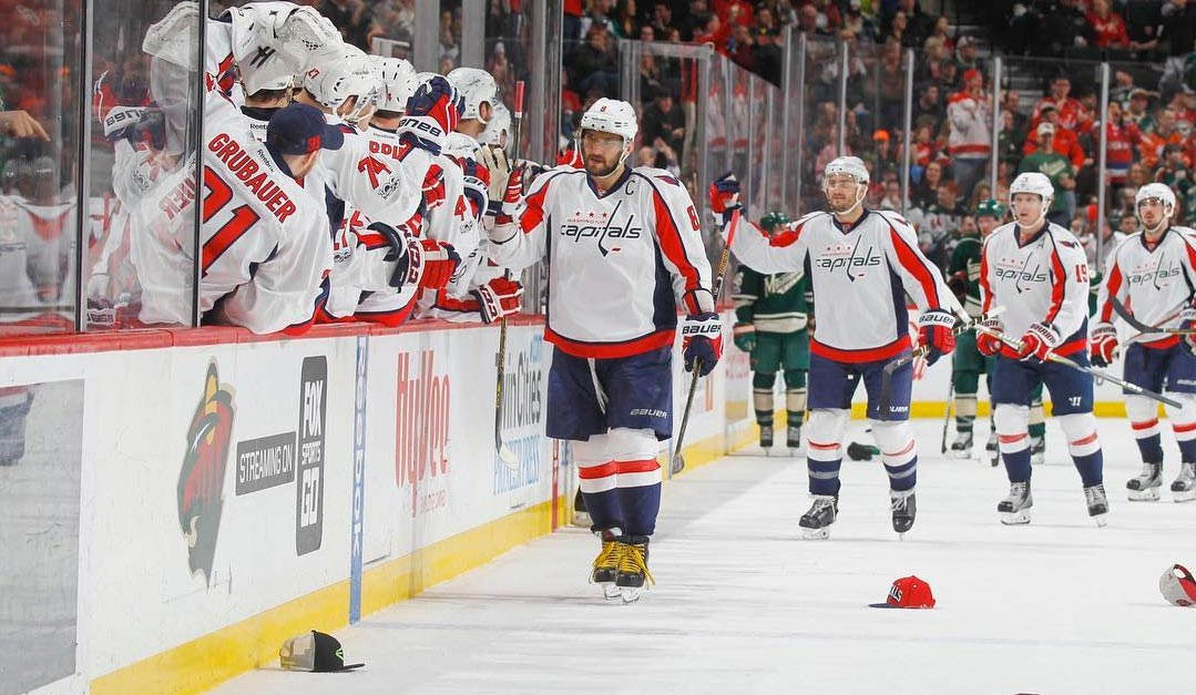 fb27f19ce2e274 Ted Leonsis offers to replace hats tossed on ice for Alex Ovechkin's hat  trick
