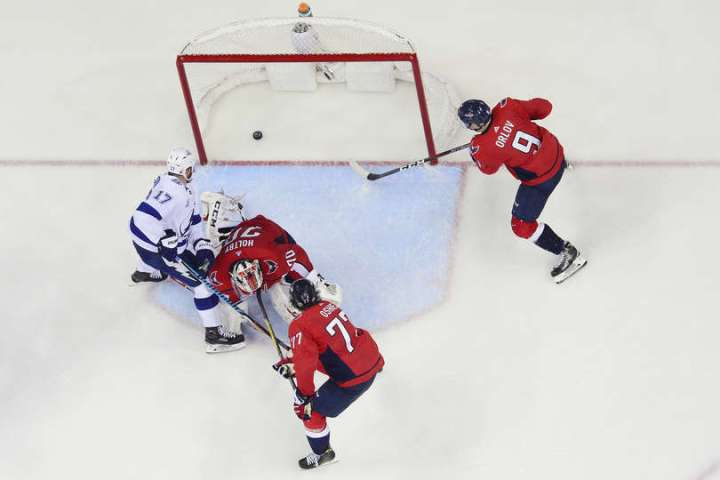 Stanley Cup playoffs: Lightning get first win vs. Capitals