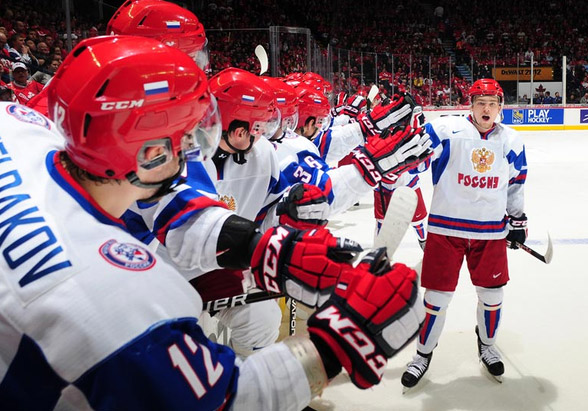 Highlights From Evgeny Kuznetsov S Hat Trick And Russia S 6 5 Win