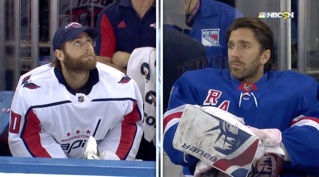 After Given Rare Night Off Henrik Lundqvist And Braden Holtby Have