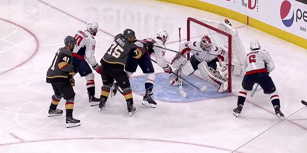 39dbe3791 Ryan Reaves's Stanley Cup Final goal should not have counted. He should  have been called for cross checking.