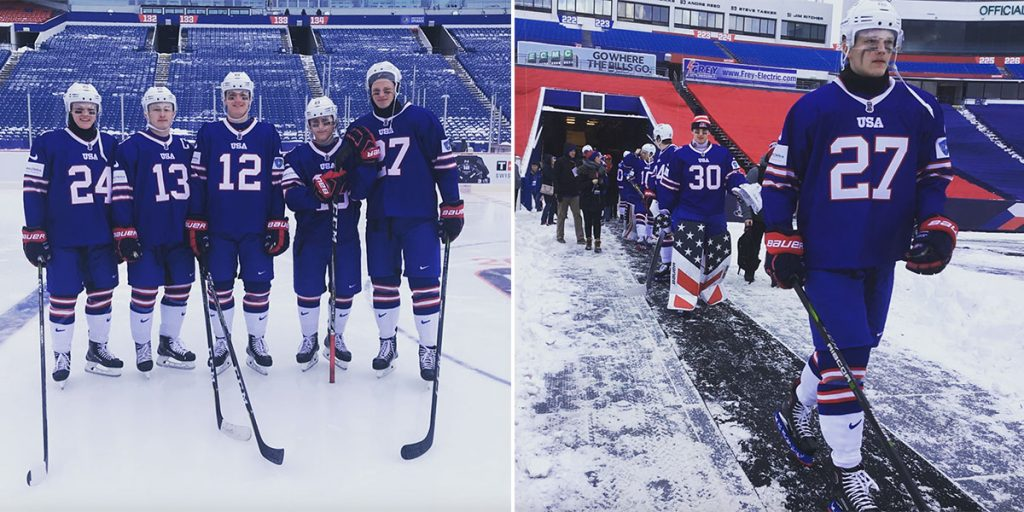 Team Usa To Wear Buffalo Bills Inspired Uniforms For World Junior