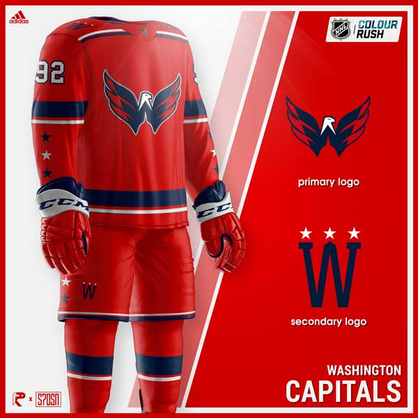 9c7cf7ef6 Caps fans want the Weagle as the primary logo on a jersey. This man ...