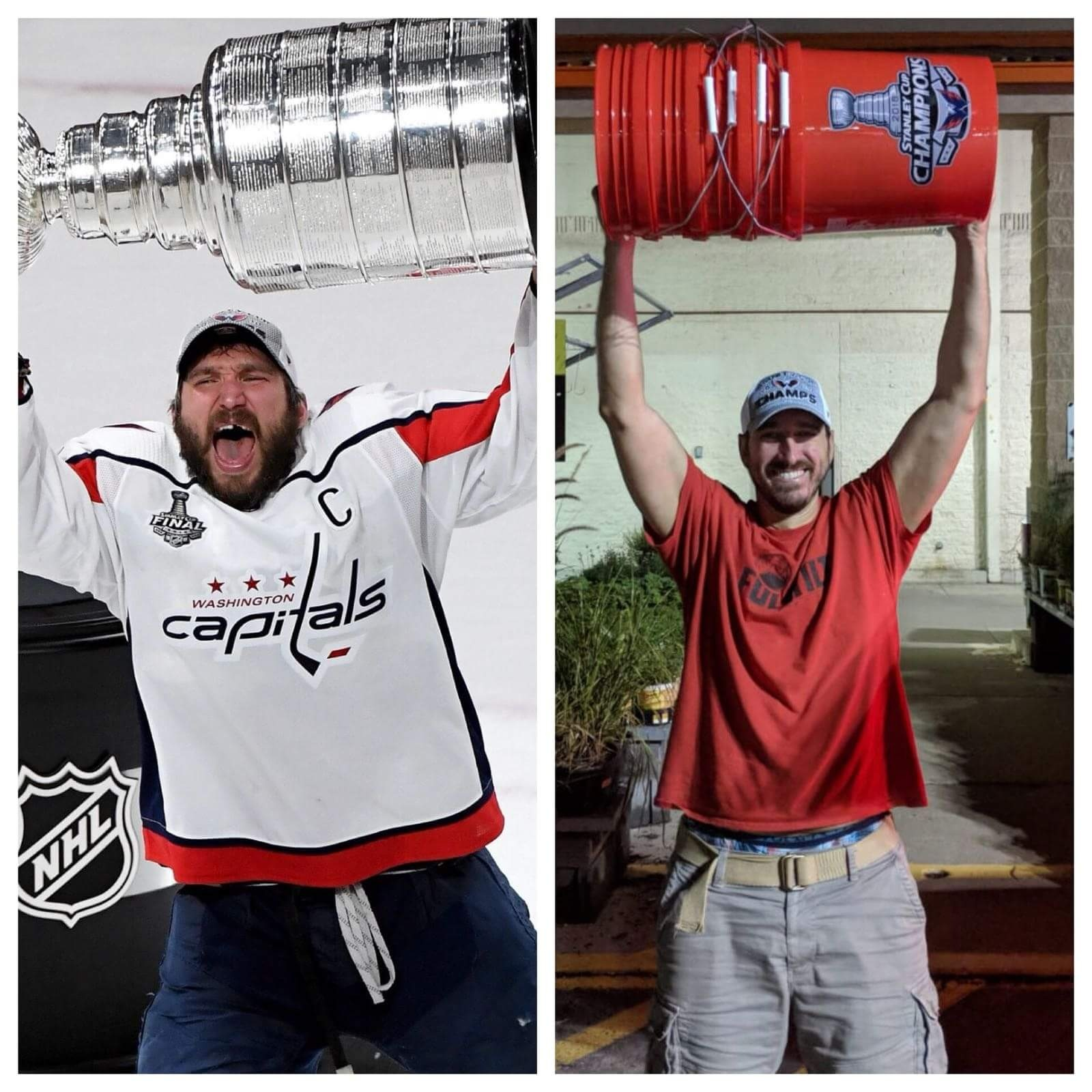 6769f50b Capitals fans, who will never get a chance to raise the NHL championship  trophy themselves, saw the bucket as a funny alternative to the Stanley Cup.