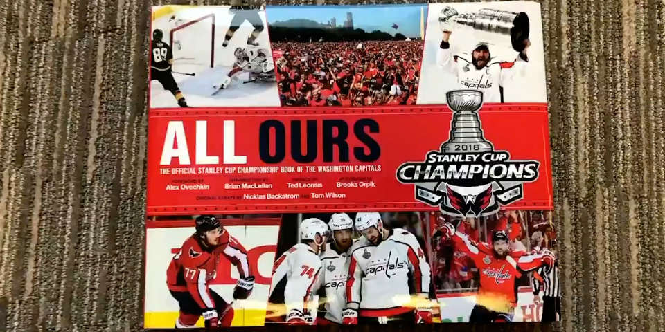 53810900 A first look at the Capitals Stanley Cup championship book 'All Ours'