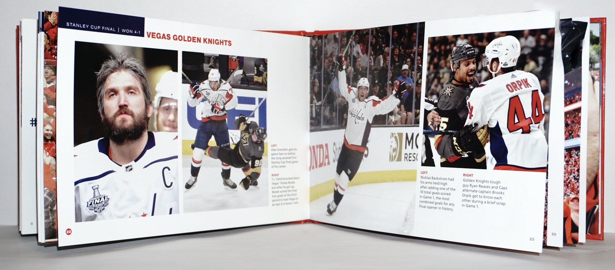 66f9a77d The Capitals will give away Stanley Cup champion mini books at their ...