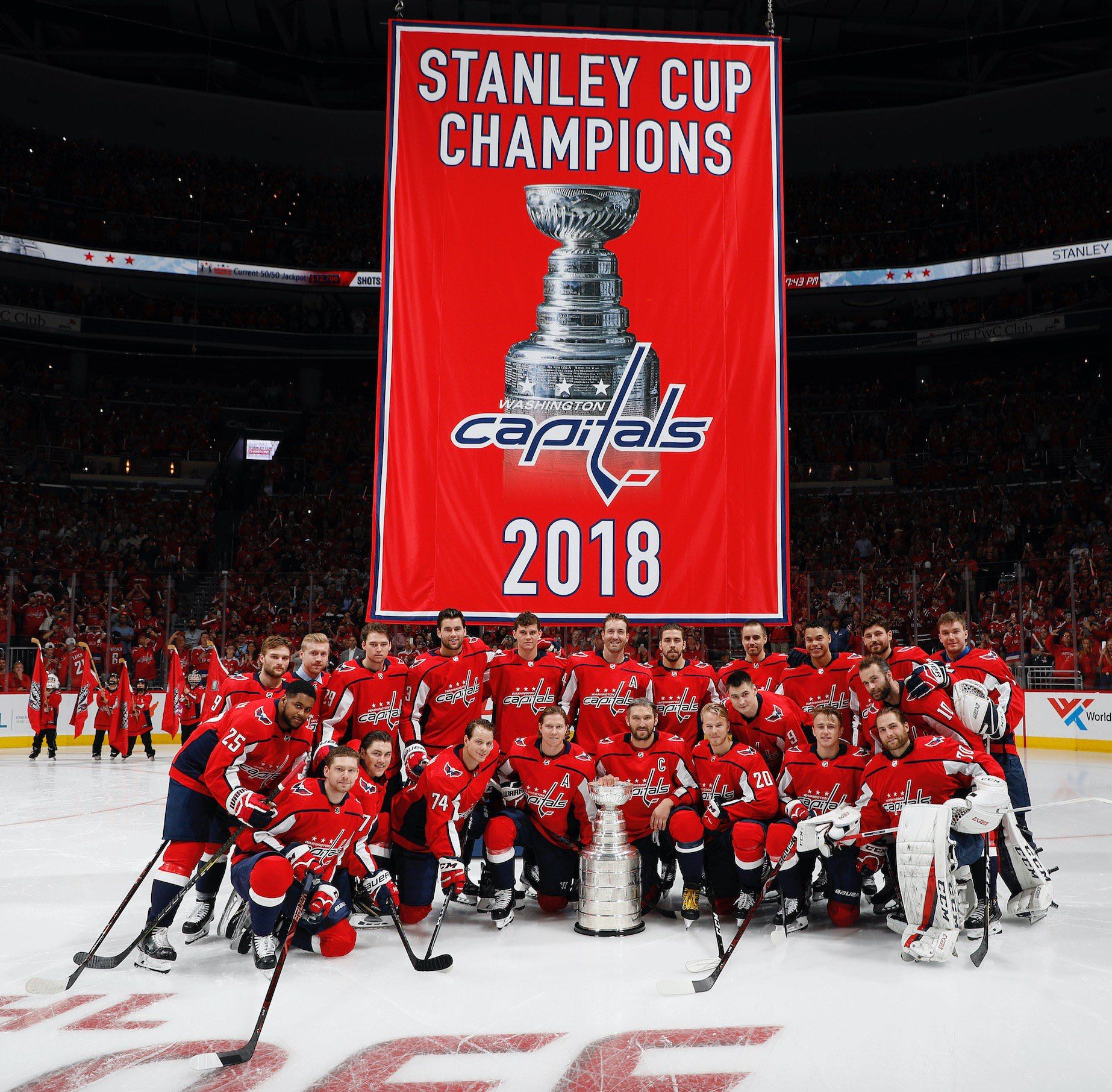 The Washington Capitals banner raising was about as perfect a hockey ... efdab80ab1a