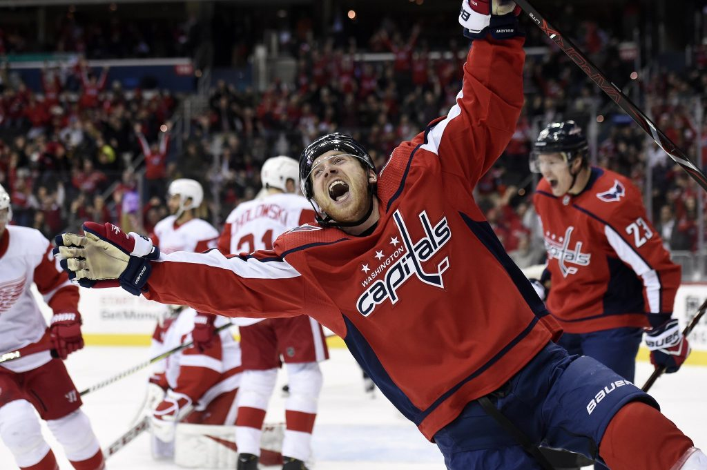 best website a93e4 bf3df Ovi gives RMNB a hat trick for our birthday as Caps beat Red Wings 6-2