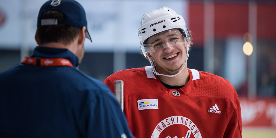 Jakub Vrana comments on his new contract: I'm 'proud to be a part of the Capitals for two more years'