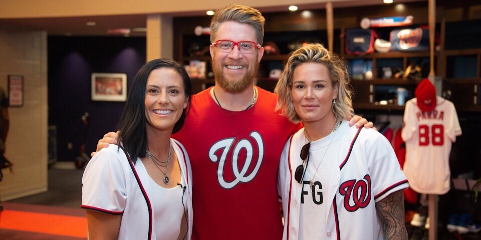 USWNT star Ali Krieger throws out ceremonial first pitch at Nationals game
