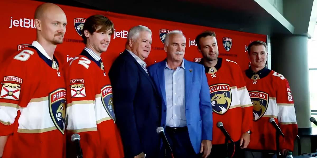 Panthers sign defenseman Stralman to 3-year deal