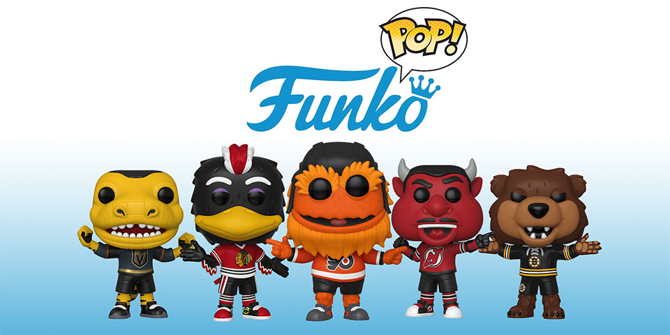 NHL mascots are the newest line of Funko POP! figurines